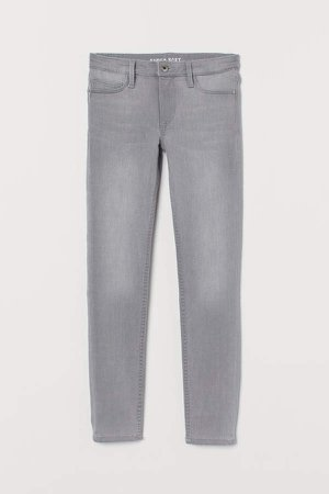 Super Soft Skinny Fit Jeans - Gray