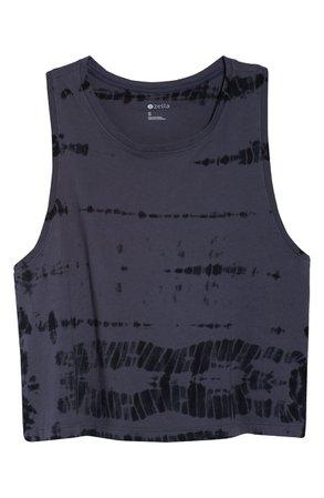 Zella Tie Dye Crop Tank | Nordstrom