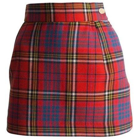 Vivienne Westwood Tartan Wool Mini Skirt, Circa 1993 ($1,224)