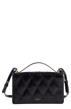 Givenchy GV3 Quilted Leather Wallet on a Chain | Nordstrom
