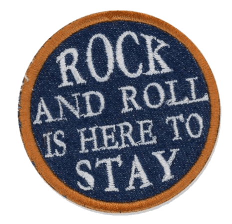 rock and roll patch