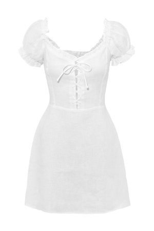 reformation milkmaid dress
