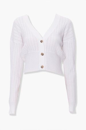 Perforated Knit Cardigan | Forever 21