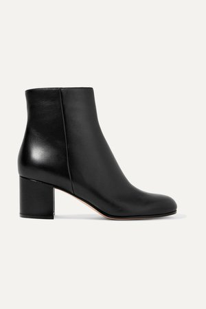 Black Margaux 60 leather ankle boots | Gianvito Rossi | NET-A-PORTER