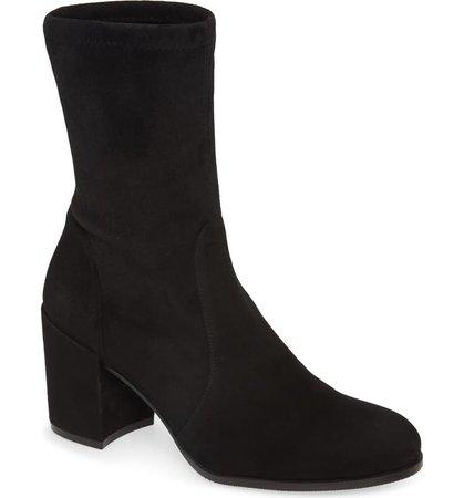 Stuart Weitzman Block Heel Bootie (Women) | Nordstrom