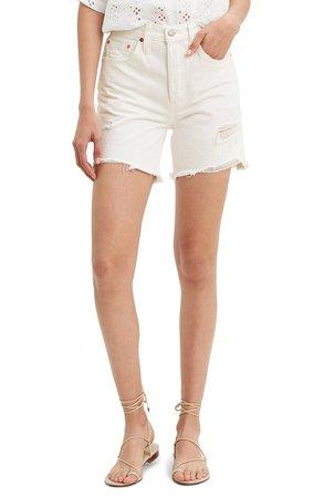 Levi's® 501® High Waist Cutoff Denim Shorts (Wondering Mind) | Nordstrom