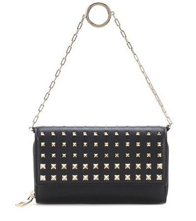 Valentino Garavani Carry Secrets leather wallet