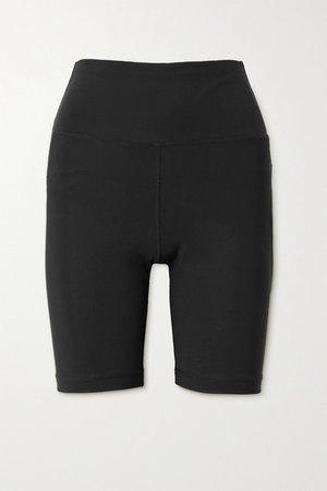 Stretch-jersey Shorts - Black