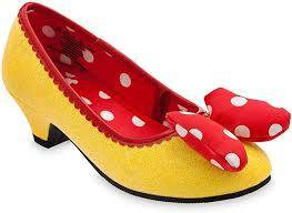 yellow shoes with red bow - Google Search