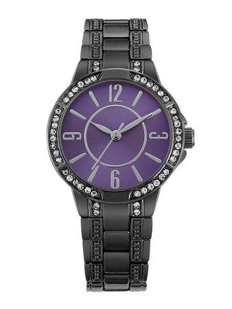 Time & Tru Women's Gun Bracelet Watch