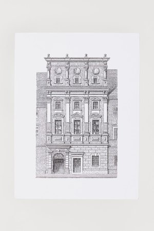 Poster - White/building facade - Home All | H&M CA