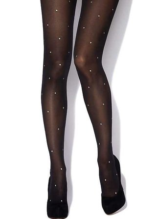 Charnos Sparkle Spot Tights In Stock At UK Tights