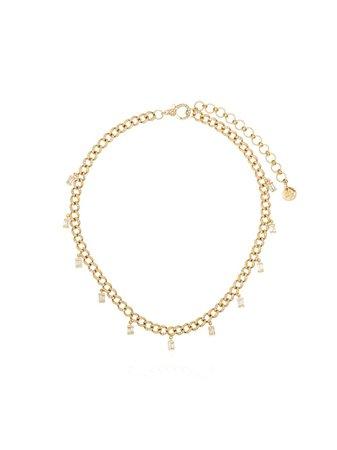 Shay 18Kt Yellow Gold Diamond Link Choker | Farfetch.com