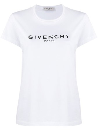 Givenchy Logo-Print Cotton T-Shirt Aw20 | Farfetch.Com