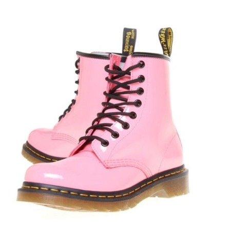 Light Pink Doc Marten Boots