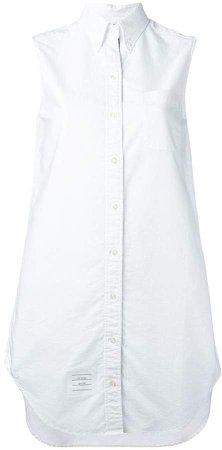 Sleeveless Shirt Tunic