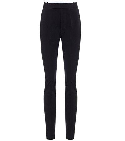 Helmut Lang - Rider high-rise stretch-cotton pants | Mytheresa