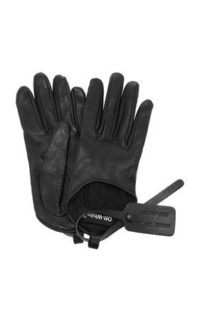 Off-White c/o Virgil Abloh Leather Gloves