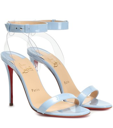 Christian Louboutin, Jonatina 100 Patent Leather Sandals
