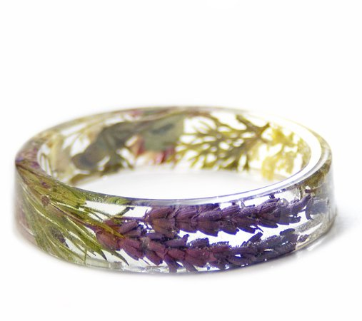 Herbal Magic Resin Bracelet