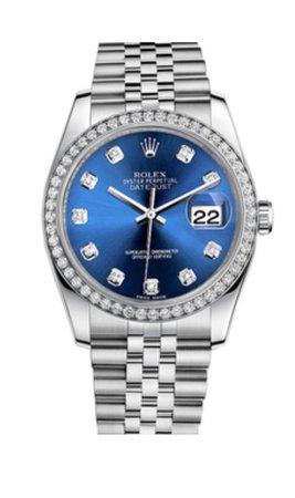 blue Rolex