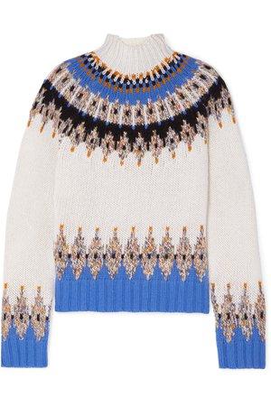 Stine Goya   Justin Fair Isle wool-blend turtleneck sweater   NET-A-PORTER.COM