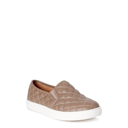 Time and Tru - Time and Tru Quilted Twin Gore Slip On (Women's) (Wide Width Available) - Walmart.com - Walmart.com