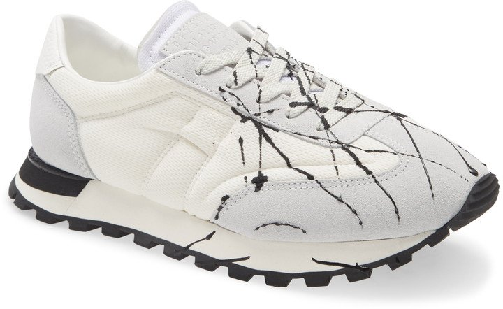 Replica Paint Splatter Sneaker