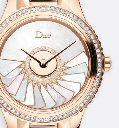"Dior Grand Bal plissé soleil ø 36 mm, automatic movement, ""Dior inversé 11 1/2"" calibre - Watchmaking - Woman   DIOR"