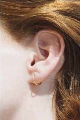 Gold Hoop Earrings - Accessories
