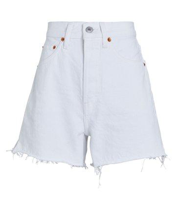 RE/DONE 50s Cut-Off Denim Shorts   INTERMIX®