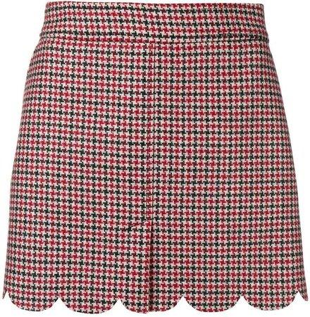 check short skirt