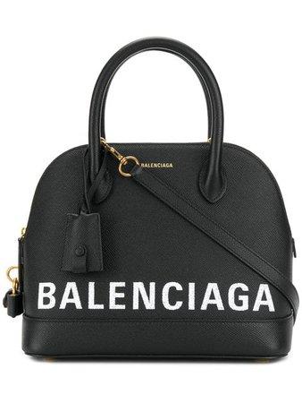 Balenciaga Bolsa Tote 'Ville' De Couro - Farfetch
