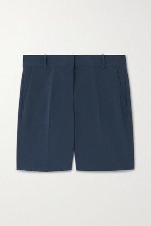 Crepe Shorts - Midnight blue