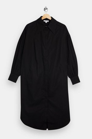 Black Oversized Shirt Dress | Topshop