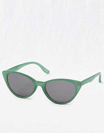 Aerie Meow Sunnies green