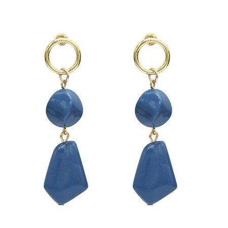 blue statement earrings - Google Search