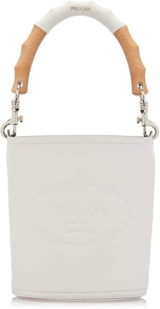 Embossed Leather Top Handle Bag
