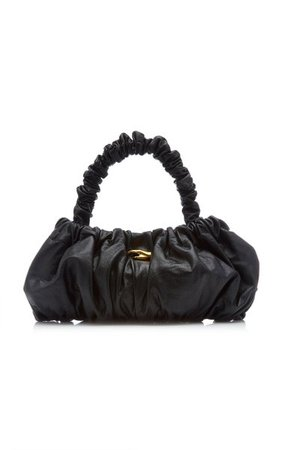 Pierre Ruched Leather Top Handle Bag By Marargent | Moda Operandi