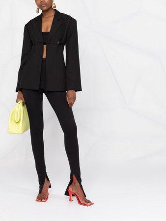 Jacquemus Belted Blazer Jacket - Farfetch