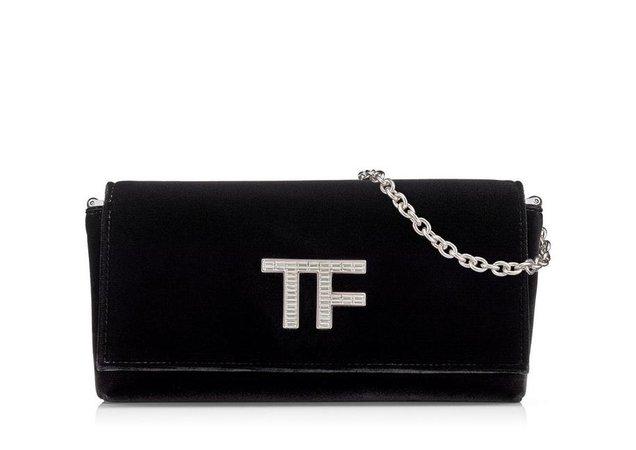 Tom Ford VELVET CRYSTAL TF CLUTCH | TomFord.com