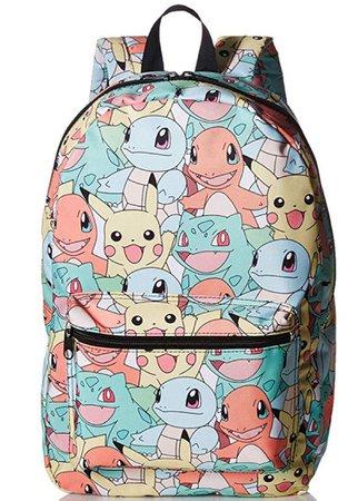 pokemon kanto starters backpack