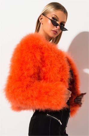 Ostrich Feathers jacket