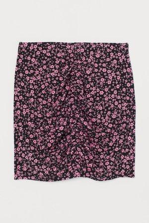 Draped Skirt - Pink