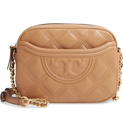Tory Burch Fleming Quilted Leather Camera Bag   Nordstrom