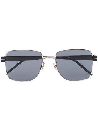 Saint Laurent Eyewear Fyrkantiga Solglasögon - Farfetch