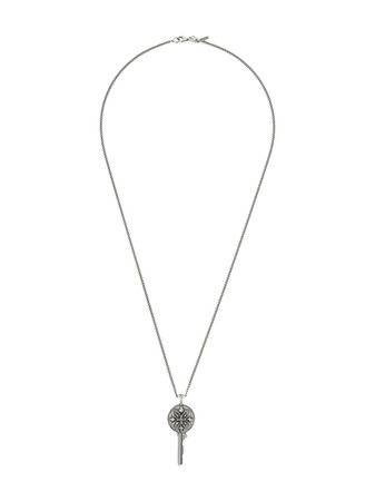 Emanuele Bicocchi Key Pendant Necklace - Farfetch