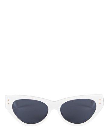 Le Specs Surfside Cat Eye Sunglasses | INTERMIX®