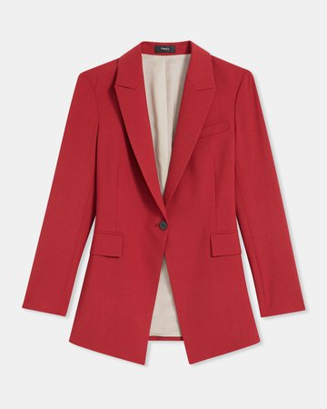 Etiennette Blazer in Good Wool | Theory