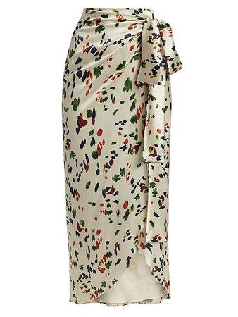 Silvia Tcherassi Bonnan Wrap Skirt | SaksFifthAvenue